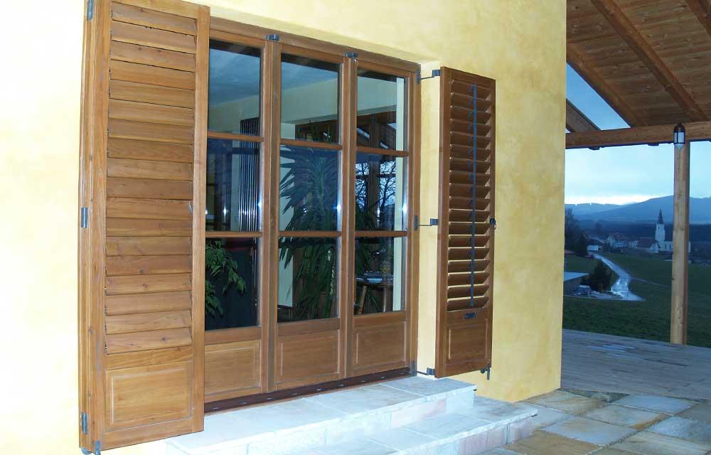 Terrassentüre – Ausführung als Falttüre